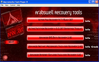 ARABSWELL RECOVERY TOOLS