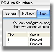 GoldSolution Software PC Auto Shutdown 2005 v3.7