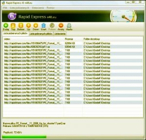 Rapid Express (For Free Users) PL And Rapid Downloader 2009