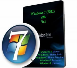 Microsoft Windows 7 Beta build 7022 RU x86 5x1 от 11.02.09