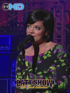 Lily Allen - The Fear (Late Show With David Letterman) (2009) HDTV [1080i]