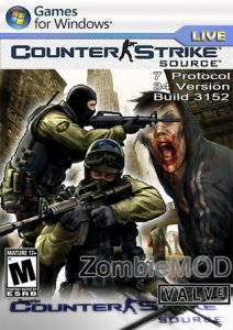 Counter-Strike Source ZombieMod v34 Build 3152 (2010/RUS/Pc)
