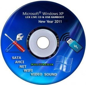 Lex Live CD&USB RamBoot Full Multimedia 2011 (31.12.2010)
