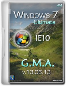 Windows 7 Ultimate SP1 IE10 x64 G.M.A. v.13.06.13