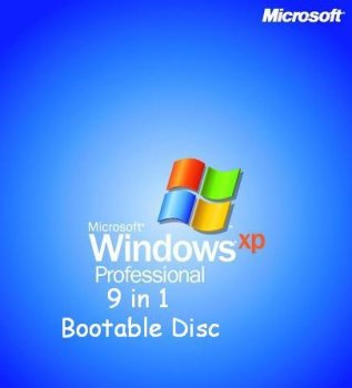 Windows Xp 9 In 1 Boot Disc ISO